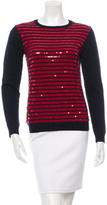 Gryphon Sequined Wool Sweater