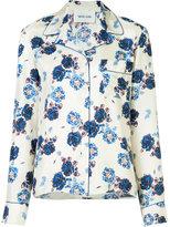 Michel Klein floral print shirt - women - Silk - 36