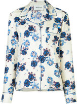 Michel Klein floral print shirt