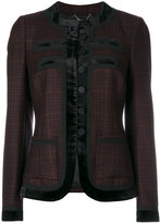 Givenchy Prince de Galles jacket - women - Silk/Polyamide/Polyester/Wool - 38