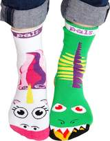 Pals Vs. Socks Ladies Pals Dragon and Unicorn Socks 1 Size Fits Most