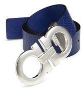 Salvatore Ferragamo Stamped Leather Belt