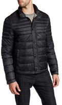 Kenneth Cole New York Zip Front Faux Down Packable Jacket