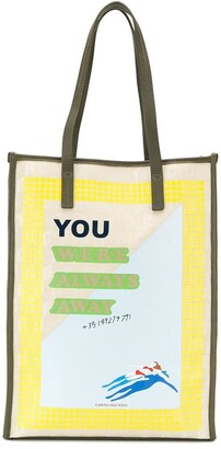 Corto Moltedo Always Away shopper tote