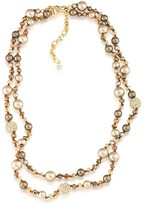 """Carolee Layered Necklace, 15"""""""
