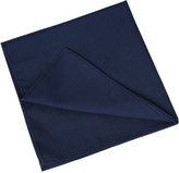 Oxford Pocket Square Cotton Nvy