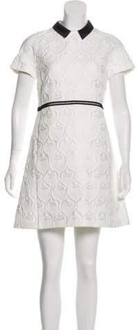 Giamba Jacquard Mini Dress w/ Tags