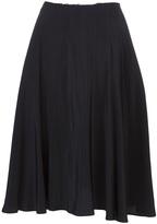 Yohji Yamamoto Raw edge waist skirt