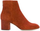 Rag & Bone embossed suede boots