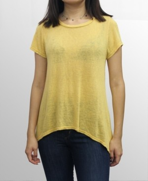 Coin 1804 Womens Rayon Slub Jersey Scoop Neck Swing Tee