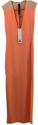 Aq/Aq Aqaq Orange Cotton - elasthane Dress for Women