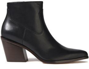 Rag & Bone Razor Leather Ankle Boots