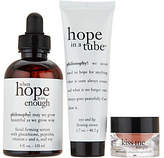 philosophy kissable skin face, lip, &eye treatment trio Auto-Delivery