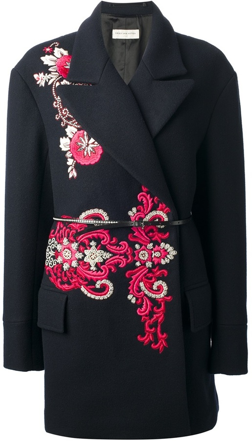 Dries Van Noten 'Ever Embroidery' coat