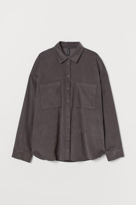 H&M Corduroy shirt