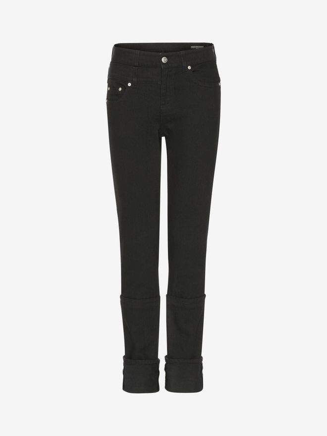 Alexander McQueen Capri Denim Jeans