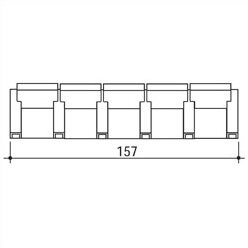 Bass Celebrity Home Theater Row Seating (Row of 5