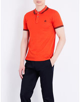 Ps By Paul Smith Brand-logo Cotton-piqué Polo Shirt