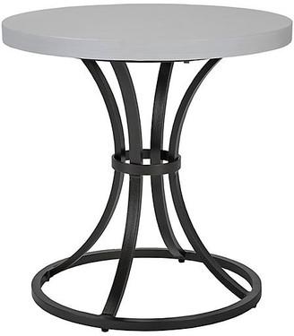 Lane Venture Calistoga Outdoor Large Side Table - Dark Bronze