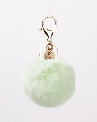 Belle & Bloom Fur Pom Pom Key Ring