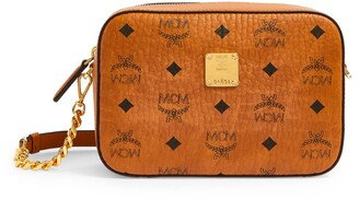 MCM Mini Visetos Cross-Body Bag