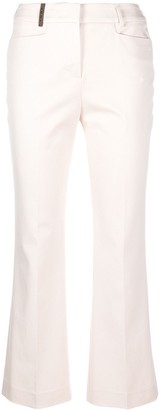 Peserico Cropped Tailored Trousers