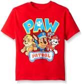 Nickelodeon Paw Patrol Little Boys' Short Sleeve T-Shirt