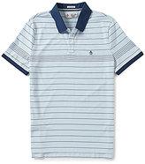 Original Penguin Engineered Fine Stripe Short-Sleeve Polo Shirt