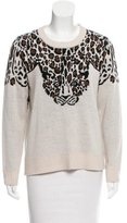 Mara Hoffman Patterned Crew Neck Sweater