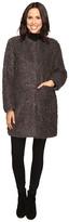 Via Spiga Curly Faux Fur Coat