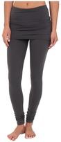 Splendid Jersey Legging w/ Oversized Foldover Waist