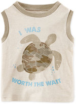 First Impressions Baby Boys' I Was Worth The Wait Turtle Tank, Only at Macy's