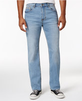 Calvin Klein Jeans Men's Relaxed-Straight Fit Stretch Streak Chill Wash Jeans