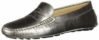 Driver Club Usa Womens Genuine Leather Made in Brazil Naples Driver Loafer