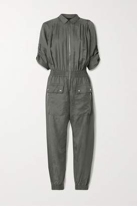 ATM Anthony Thomas Melillo Lyocell Jumpsuit - Army green
