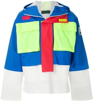 Piet Hybrid hooded jacket
