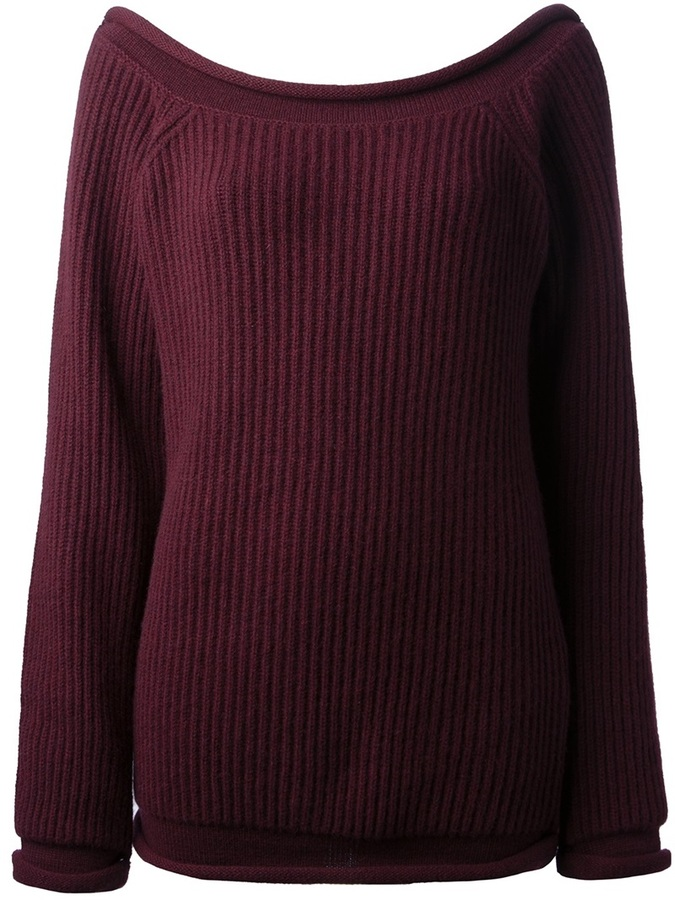 Christopher Kane ribbed knit pullover
