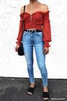 Forever 21 Paint Splatter Ankle Jeans