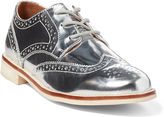 Ralph Lauren Metallic Leather Oxford