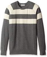 Bill Tornade BILLTORNADE Men's Twelve Striped Sweater