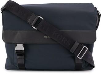 Michael Kors Collection Logo Messenger Bag