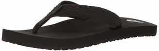 Reef Men's Sandals Smoothy | Classic Beach Flip Flop with Woven Strap and Arch Support