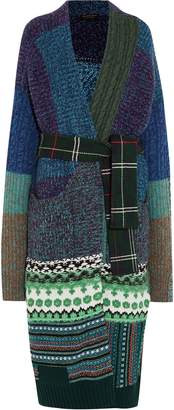 Burberry Cashmere-blend Jacquard Cardigan