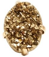 Christopher Kane Raw stone ring