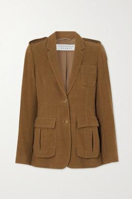 Gabriela Hearst Louisa Cashmere-corduroy Blazer - Light brown