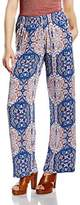 Rich & Royal rich&royal Women's Trousers - Blue -
