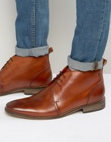 Base London Devon Leather Chukka Boots