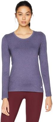 Core Products Amazon Brand - Core 10 Women's Fitted Run Tech Mesh Long Sleeve T-Shirt