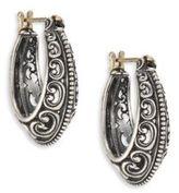 Konstantino Penelope Sterling Silver Filigree Hoop Earrings/1