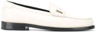 Saint Laurent Monogram Plaque Loafers